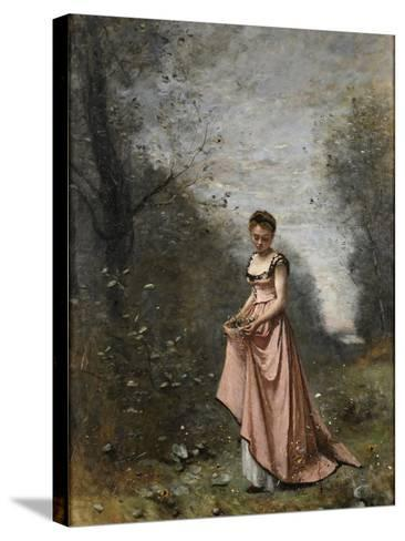 Springtime of Life, 1871-Jean-Baptiste-Camille Corot-Stretched Canvas Print
