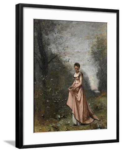 Springtime of Life, 1871-Jean-Baptiste-Camille Corot-Framed Art Print