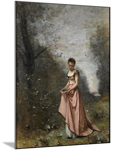 Springtime of Life, 1871-Jean-Baptiste-Camille Corot-Mounted Giclee Print