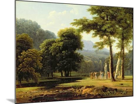 Landscape, 1804-Jean Victor Bertin-Mounted Giclee Print