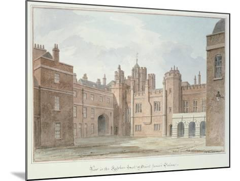 View in the Kitchen Court of St. James's Palace-John Buckler-Mounted Giclee Print