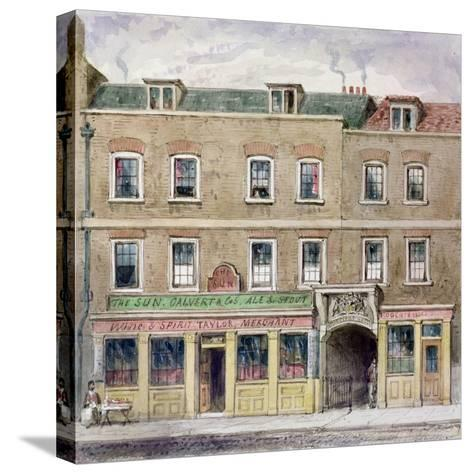 Curriers' Hall, 1850-John Burell Read-Stretched Canvas Print