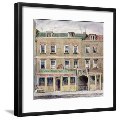 Curriers' Hall, 1850-John Burell Read-Framed Art Print