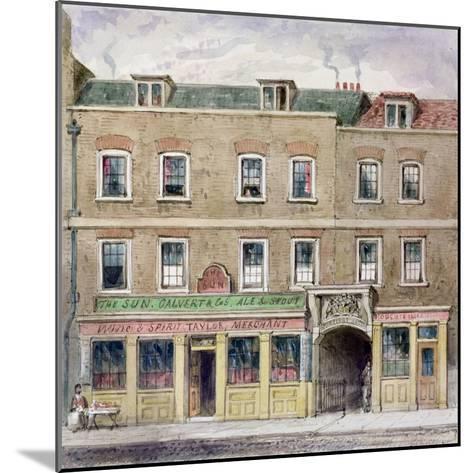 Curriers' Hall, 1850-John Burell Read-Mounted Giclee Print