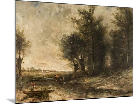 Landscape-Jean-Baptiste-Camille Corot-Mounted Giclee Print