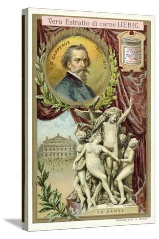 The Dance-Jean-Baptiste Carpeaux-Stretched Canvas Print