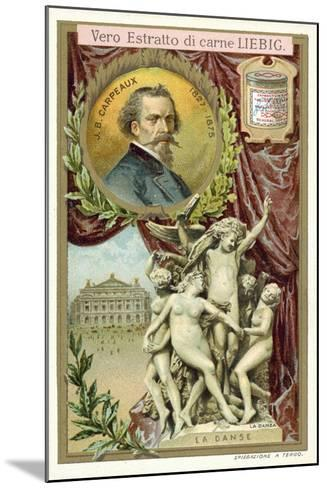 The Dance-Jean-Baptiste Carpeaux-Mounted Giclee Print