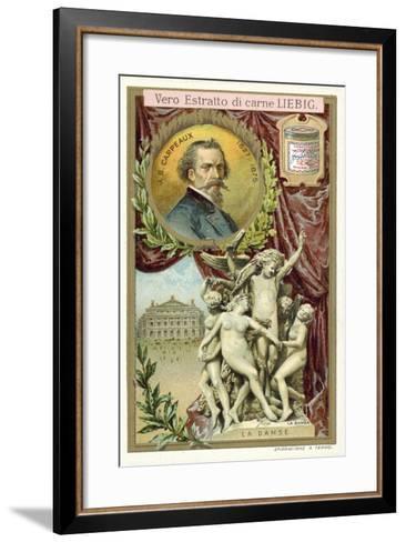 The Dance-Jean-Baptiste Carpeaux-Framed Art Print