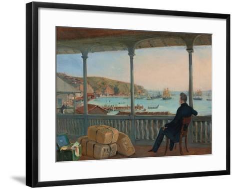 Valparaiso, 1841-Johann Moritz Rugendas-Framed Art Print