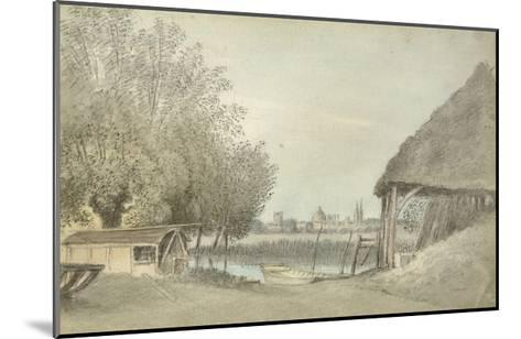 Ferry Hinksey, Near Oxford, 15 June 1789 (Watercolour over Graphite, on Paper)-John Baptist Malchair-Mounted Giclee Print