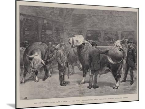 The Smithfield Club's Cattle Show at the Royal Agricultural Hall-John Charlton-Mounted Giclee Print