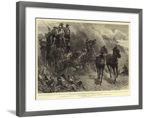 A Ticklish Team, a Departure in South African Coaching-John Charlton-Framed Art Print