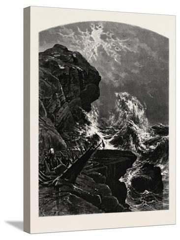 Newport, Rhode Island-John Douglas Woodward-Stretched Canvas Print