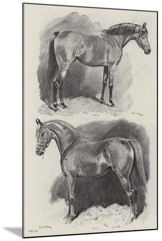 The Career of a Recehorse-John Charlton-Mounted Giclee Print