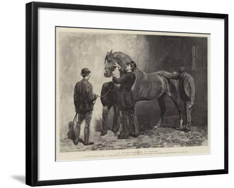 A Prize-Winner, If Sound-John Charlton-Framed Art Print