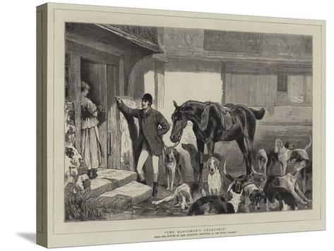 The Huntsman's Courtship-John Charlton-Stretched Canvas Print