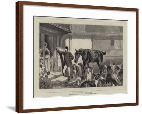 The Huntsman's Courtship-John Charlton-Framed Art Print
