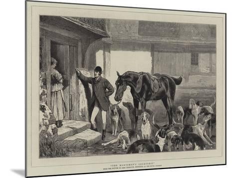The Huntsman's Courtship-John Charlton-Mounted Giclee Print