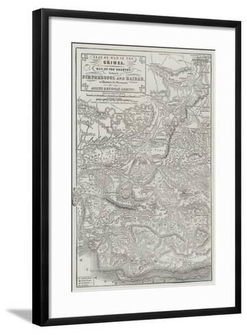 Seat of War in the Crimea-John Dower-Framed Art Print