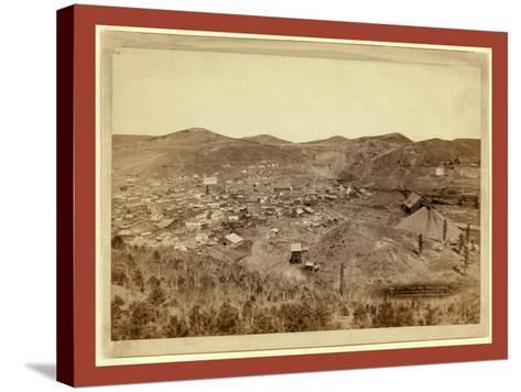 Lead City Mines and Mills. the Great Homestake Mines and Mills-John C. H. Grabill-Stretched Canvas Print