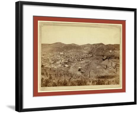 Lead City Mines and Mills. the Great Homestake Mines and Mills-John C. H. Grabill-Framed Art Print