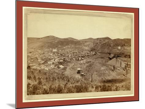 Lead City Mines and Mills. the Great Homestake Mines and Mills-John C. H. Grabill-Mounted Giclee Print