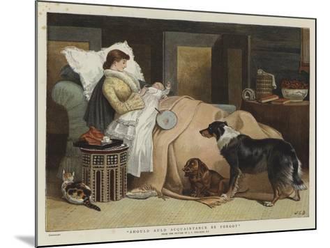 Should Auld Acquaintance Be Forgot-John Charles Dollman-Mounted Giclee Print