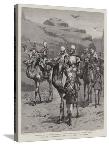The Nile Expedition, Sent Back from the Front-John Charlton-Stretched Canvas Print