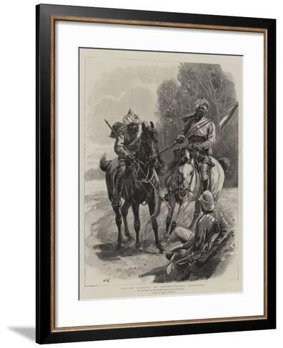 Caught Napping, an Unconditional Surrender-John Charlton-Framed Art Print