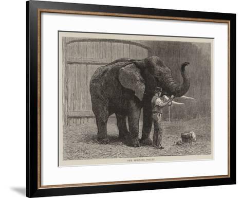 Wanderings in the Zoo-John Charles Dollman-Framed Art Print