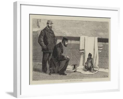 A Baby Ourang-Outang-John Charles Dollman-Framed Art Print