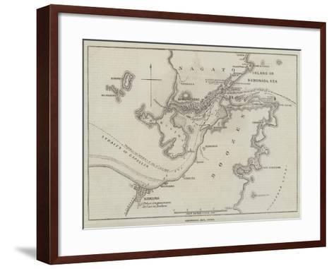 Simonoseki Bay, Japan-John Dower-Framed Art Print