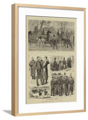 The Land Agitation in Ireland-John Charles Dollman-Framed Art Print