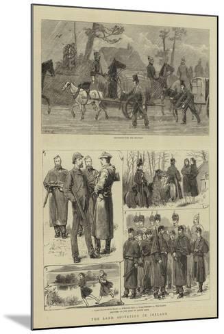 The Land Agitation in Ireland-John Charles Dollman-Mounted Giclee Print