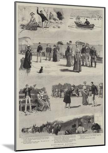 Honeymoon Hardships-John Charles Dollman-Mounted Giclee Print