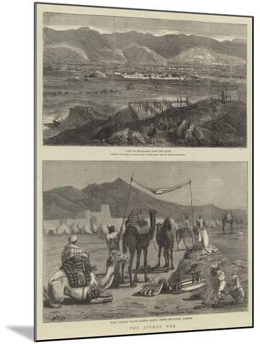 The Afghan War-John Charles Dollman-Mounted Giclee Print