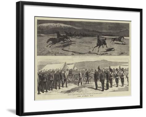 The Afghan War-John Charles Dollman-Framed Art Print