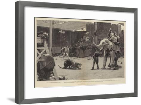 Loose!-John Charles Dollman-Framed Art Print
