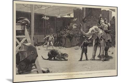 Loose!-John Charles Dollman-Mounted Giclee Print