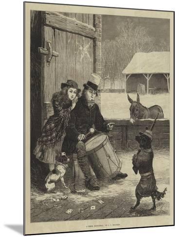 A Dress Rehearsal-John Charles Dollman-Mounted Giclee Print