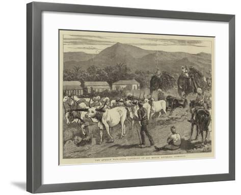 The Afghan War, Guns Captured at Ali Musjid Entering Peshawur-John Charles Dollman-Framed Art Print