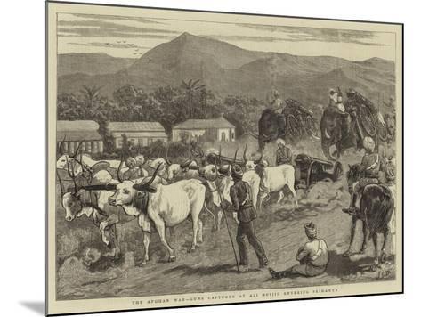 The Afghan War, Guns Captured at Ali Musjid Entering Peshawur-John Charles Dollman-Mounted Giclee Print