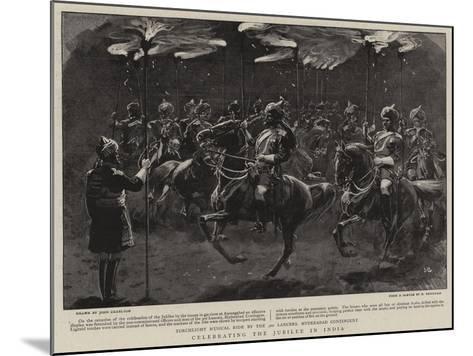 Celebrating the Jubilee in India-John Charlton-Mounted Giclee Print