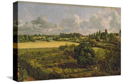 Golding Constable's Kitchen Garden, 1815-John Constable-Stretched Canvas Print