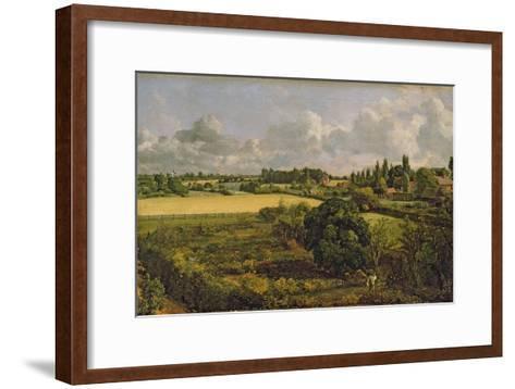 Golding Constable's Kitchen Garden, 1815-John Constable-Framed Art Print
