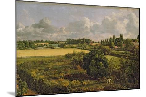 Golding Constable's Kitchen Garden, 1815-John Constable-Mounted Giclee Print