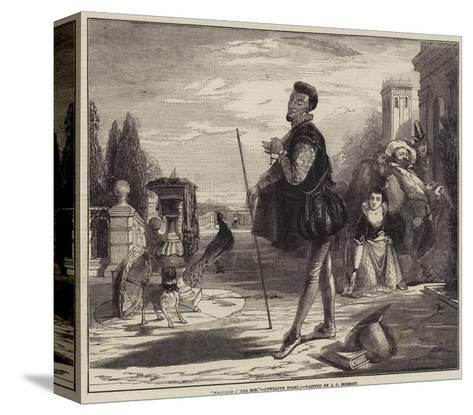 Malvolio I' the Sun, Twelfth Night-John Callcott Horsley-Stretched Canvas Print