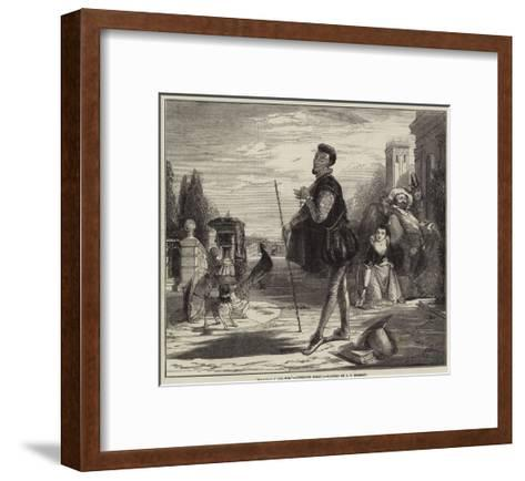 Malvolio I' the Sun, Twelfth Night-John Callcott Horsley-Framed Art Print