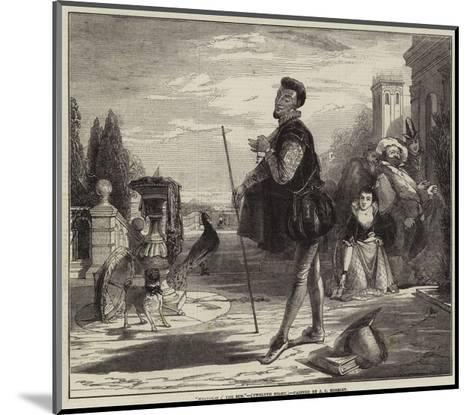 Malvolio I' the Sun, Twelfth Night-John Callcott Horsley-Mounted Giclee Print