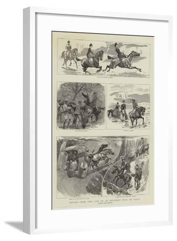 Scenes from the Life of an Officer's Wife in India-John Charlton-Framed Art Print